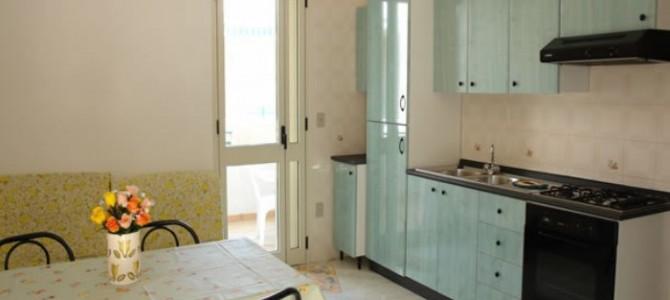 Appartamento bilocale da 4 posti letto in baia verde a Gallipoli ( rif. Maya)